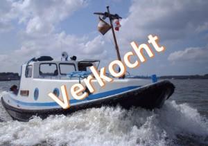 Scoutingsleepboot te koop gehad