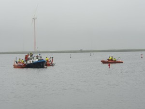 Gave reddingsoefening op Eemmeer, en wij doen mee!!