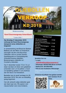 Oliebollen verkoop KD 2019