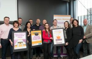 Karel Doormangroep het goede doel bij Masters of Business Amersfoort