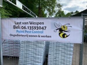 Last van wespen
