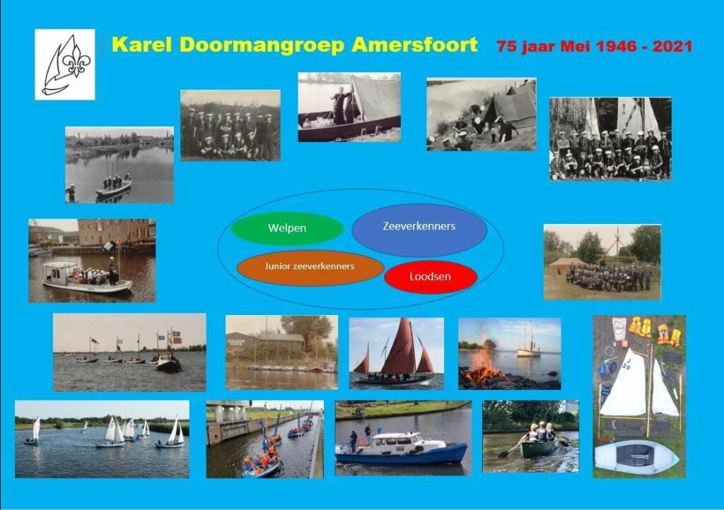 75 jaar Karel Doormangroep in Amersfoort